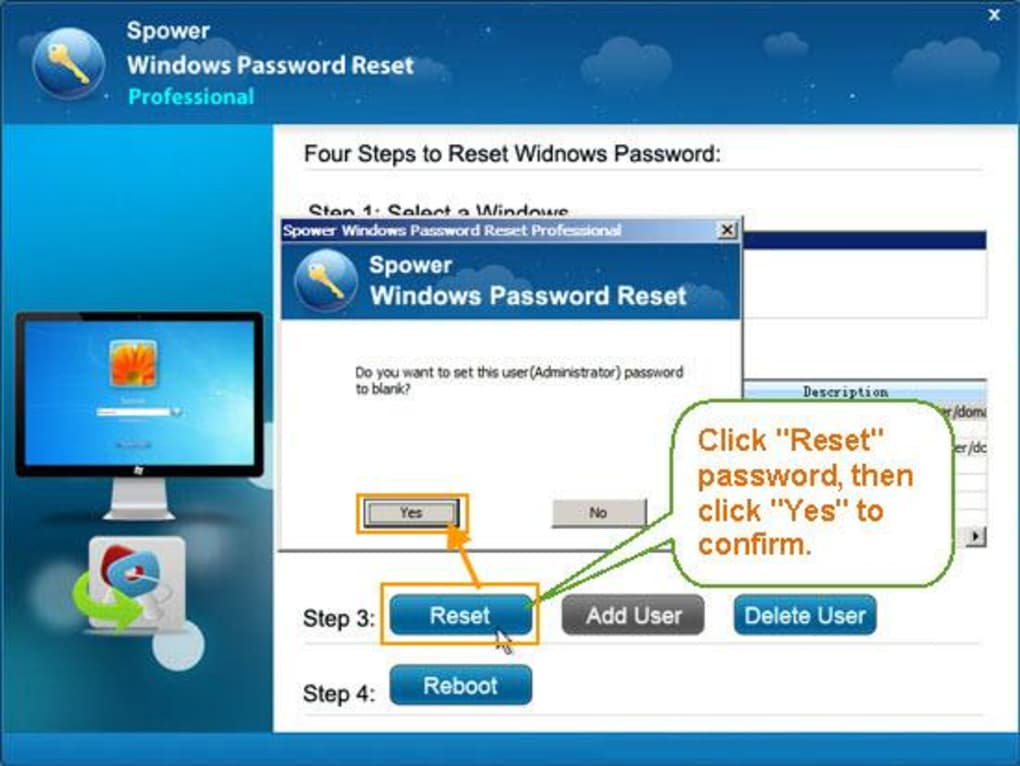 windows password