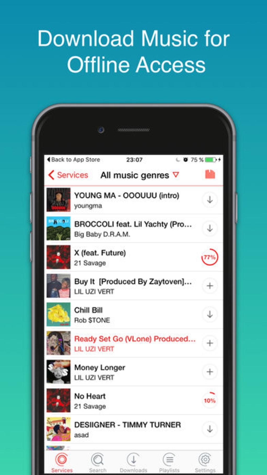 Make Sound Player Offline Mp3 for iPhone - Download