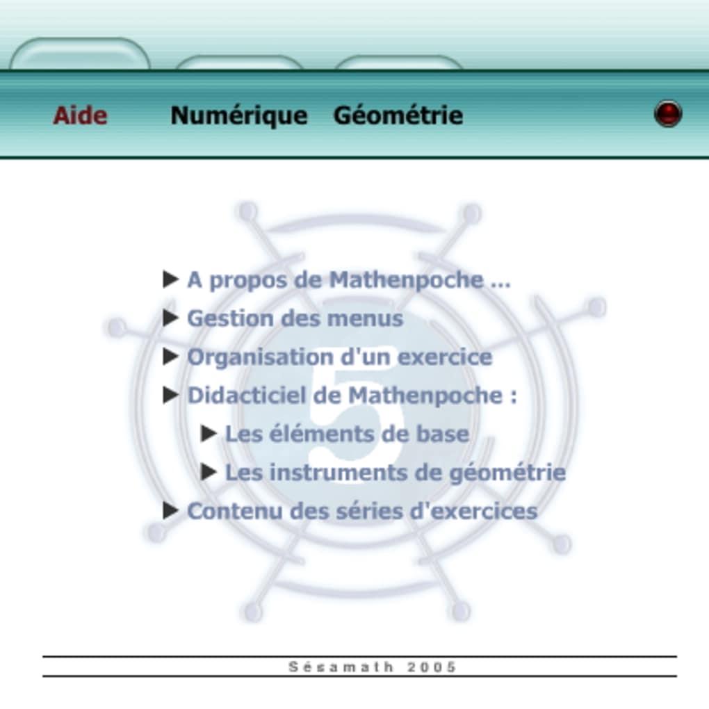 mathenpoche 5eme