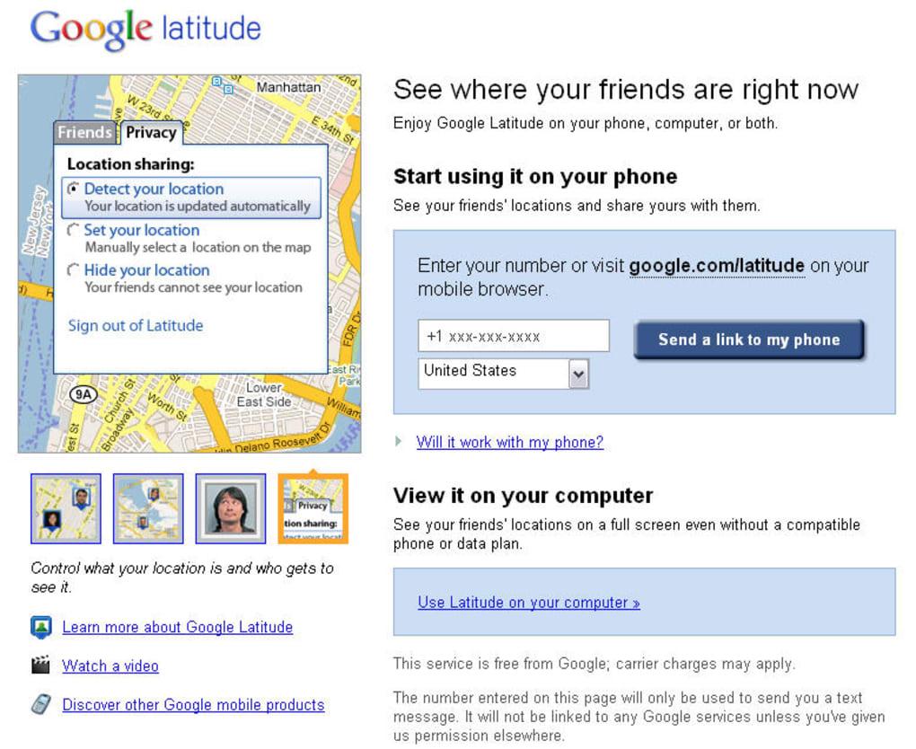 Find or enter latitude & longitude