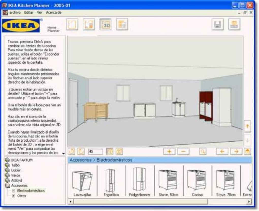 IKEA Home Kitchen Planner - Descargar