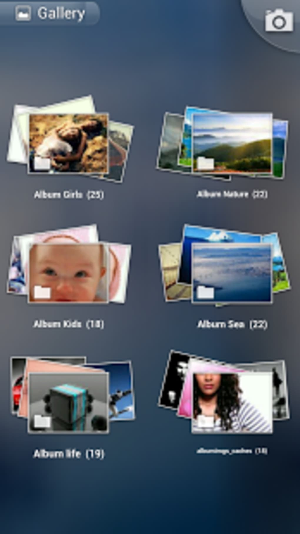 Photo Gallery 3D & HD for Android - Download