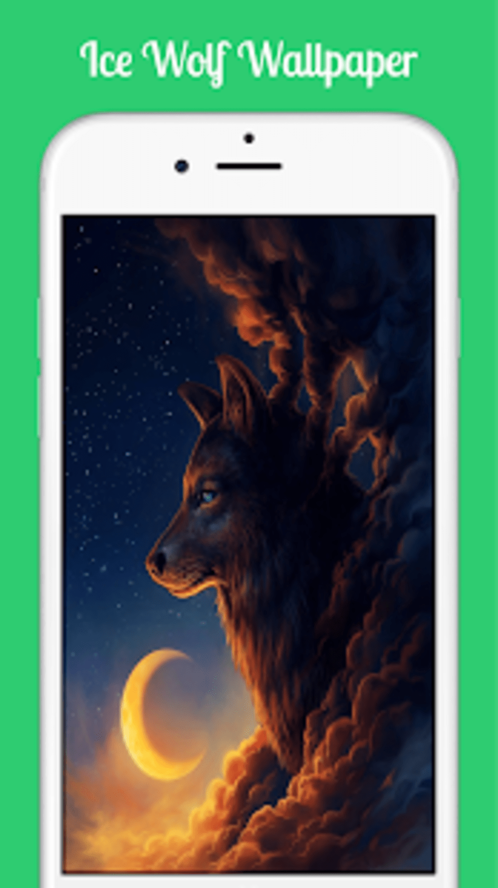 Ice Wolf Wallpaper APK for Android