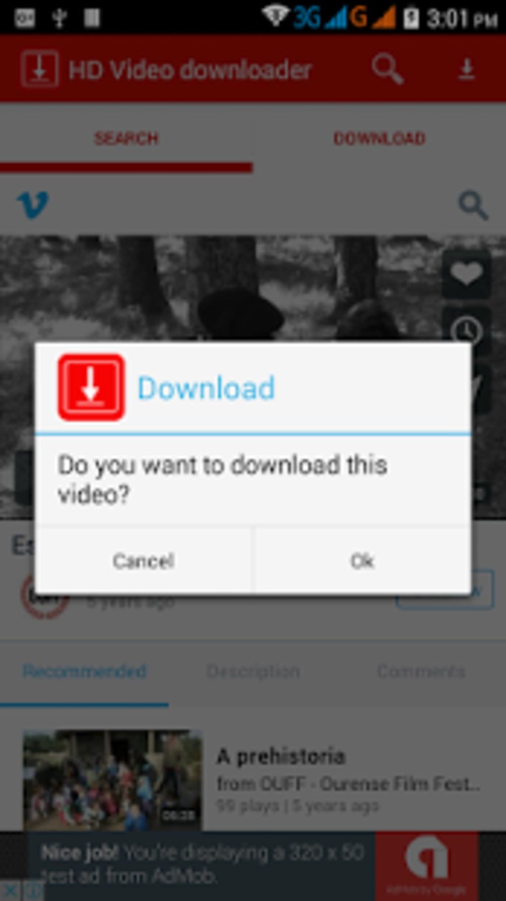 HD Video downloader free for Android - Download