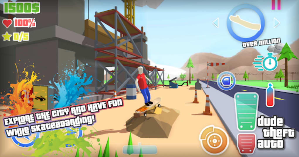Dude Theft Auto Open World Sandbox Simulator BETA for