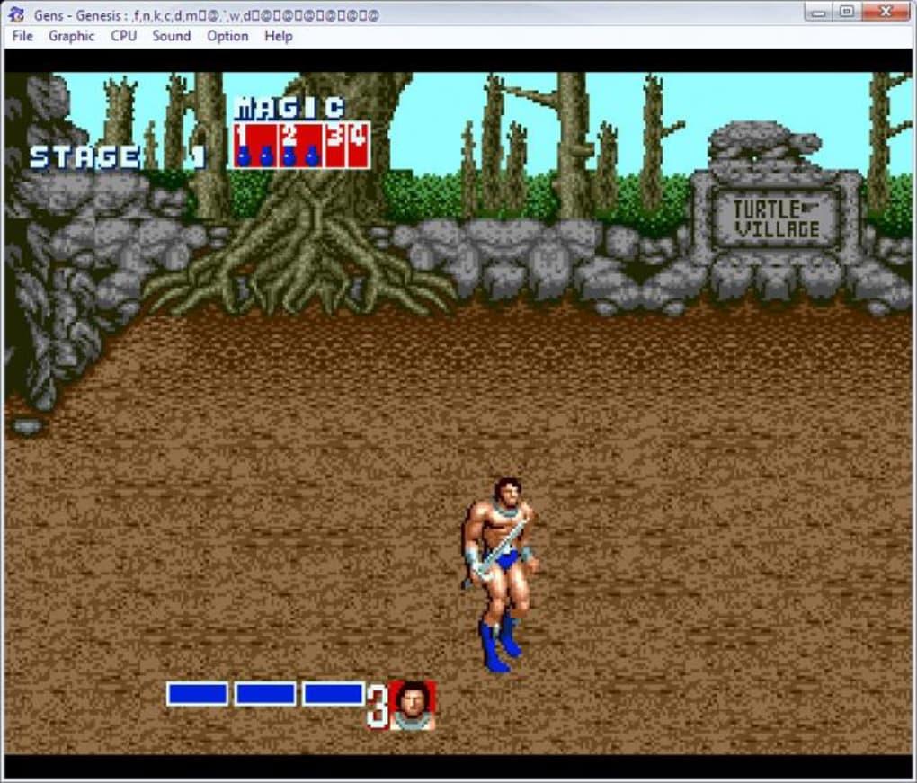 sega games emulator for pc
