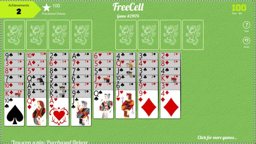 Free Cell Free for Windows 10 (Windows) - Download