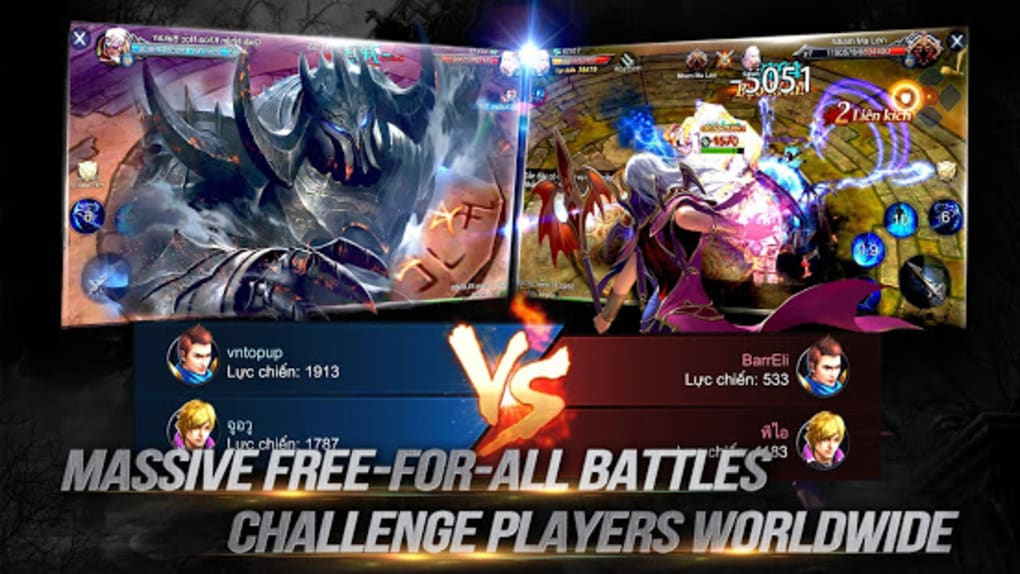 Goddess: Primal Chaos - SEA Free 3D Action MMORPG for Android - Download