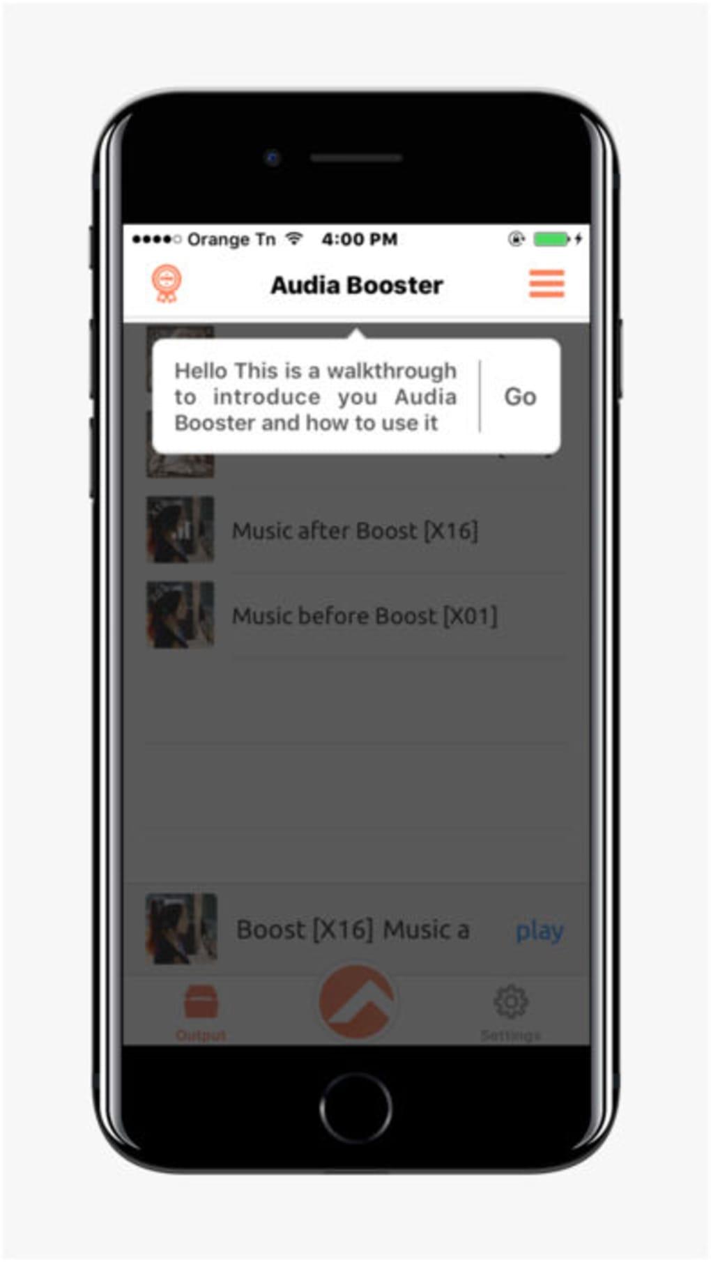 Audia Booster Volume Music