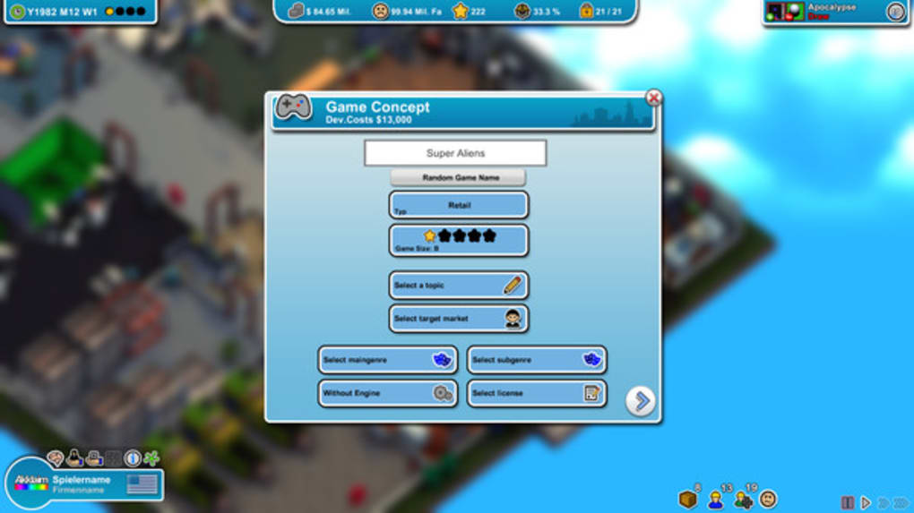 Mad Games Tycoon - Download