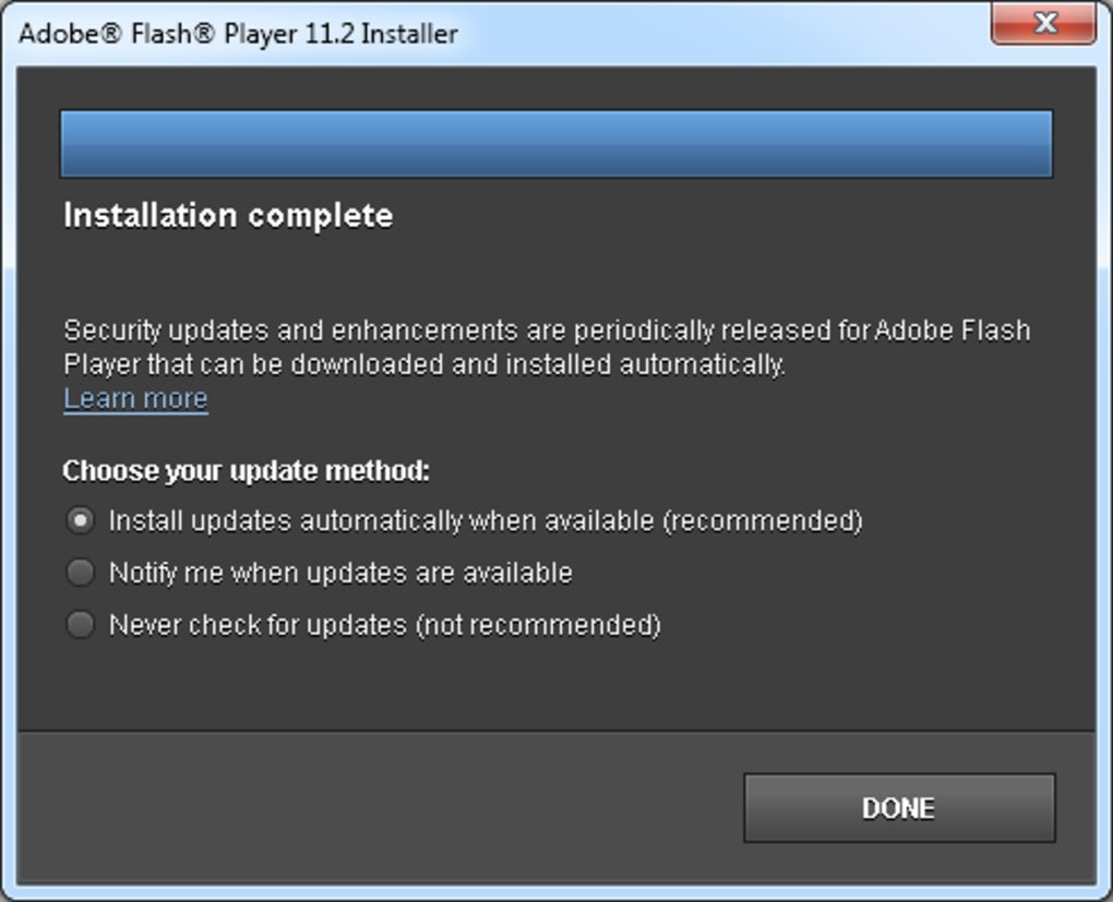 free download adobe flash player 64 bit