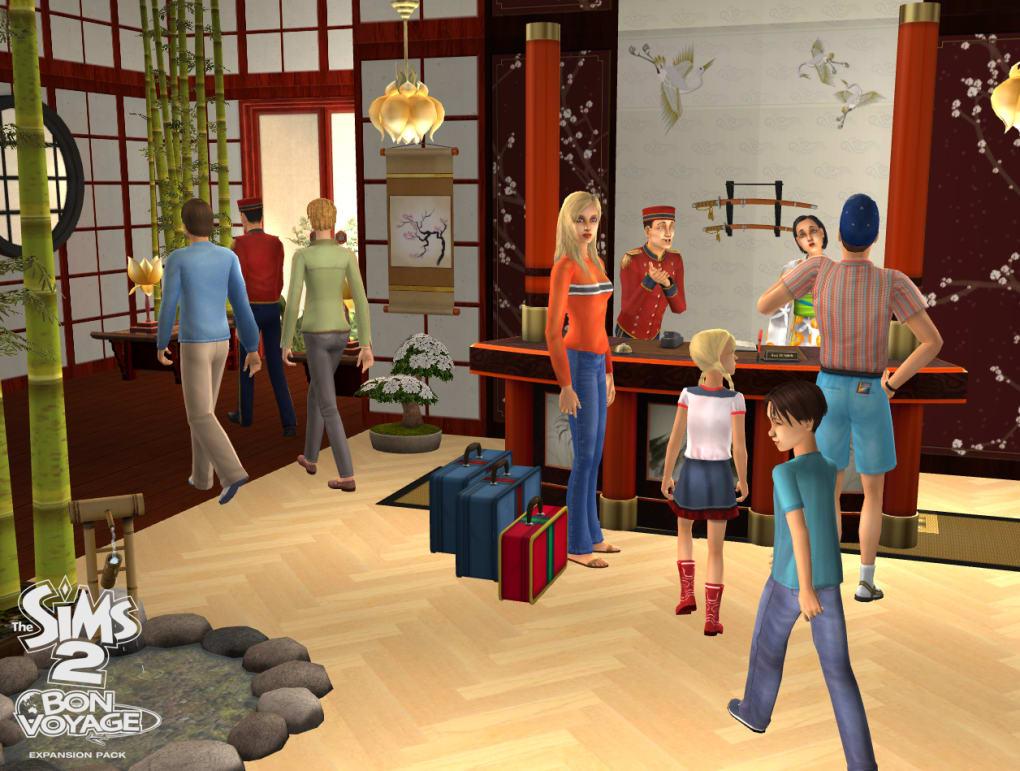 download sims 2 bon voyage expansion pack free