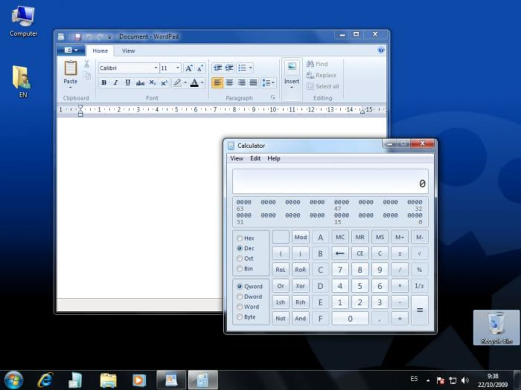 windows 7 os free download softonic