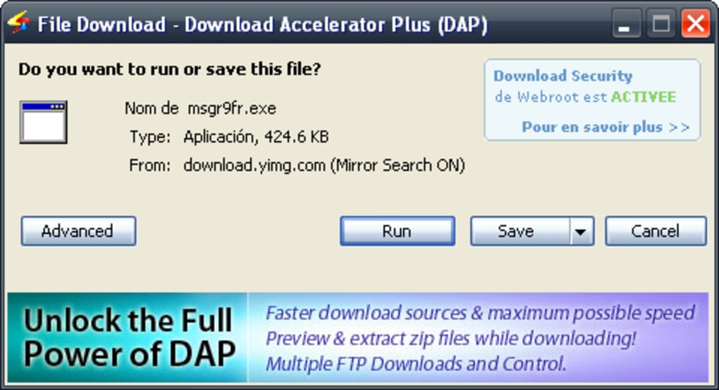 DAP GRATUIT PLUS DOWNLOAD 9.6 ACCELERATOR TÉLÉCHARGER