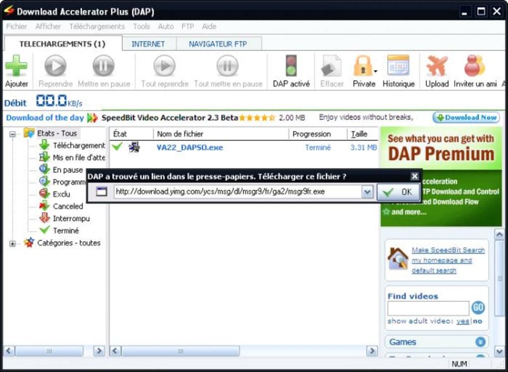 Download Accelerator Plus - Télécharger