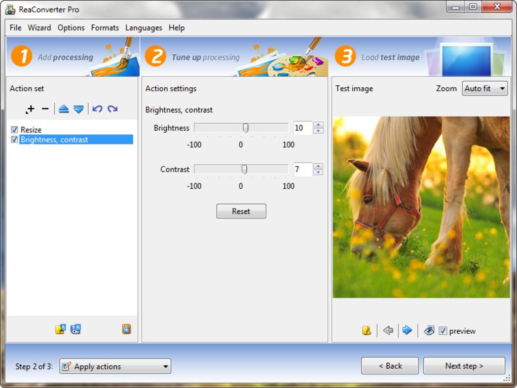Resultado de imagen para reaConverter Pro 7