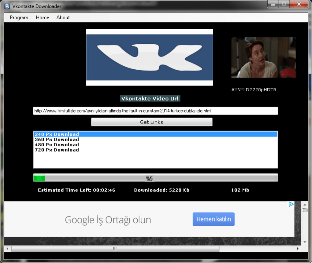 Vkontakte Downloader - Download