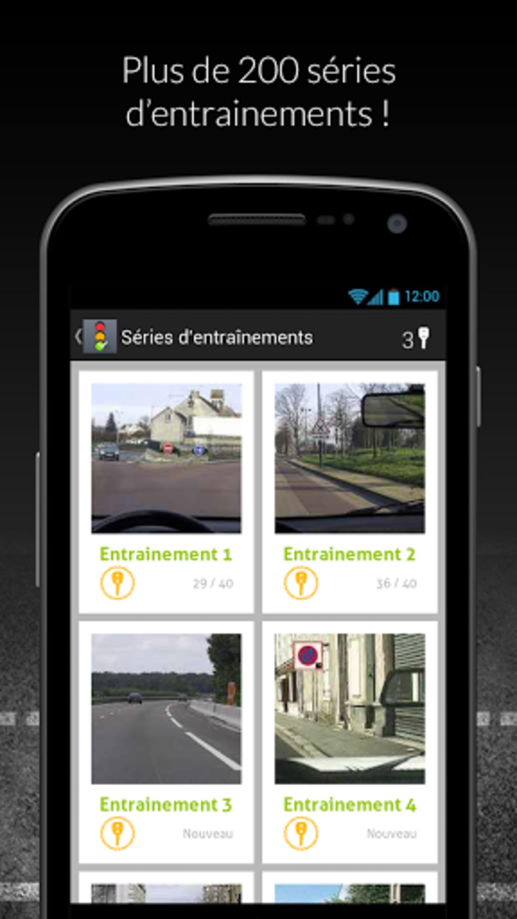code de la route gratuit 2014 pour android t l charger. Black Bedroom Furniture Sets. Home Design Ideas