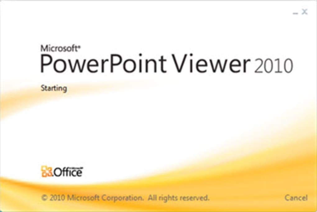 Powerpoint viewer download.
