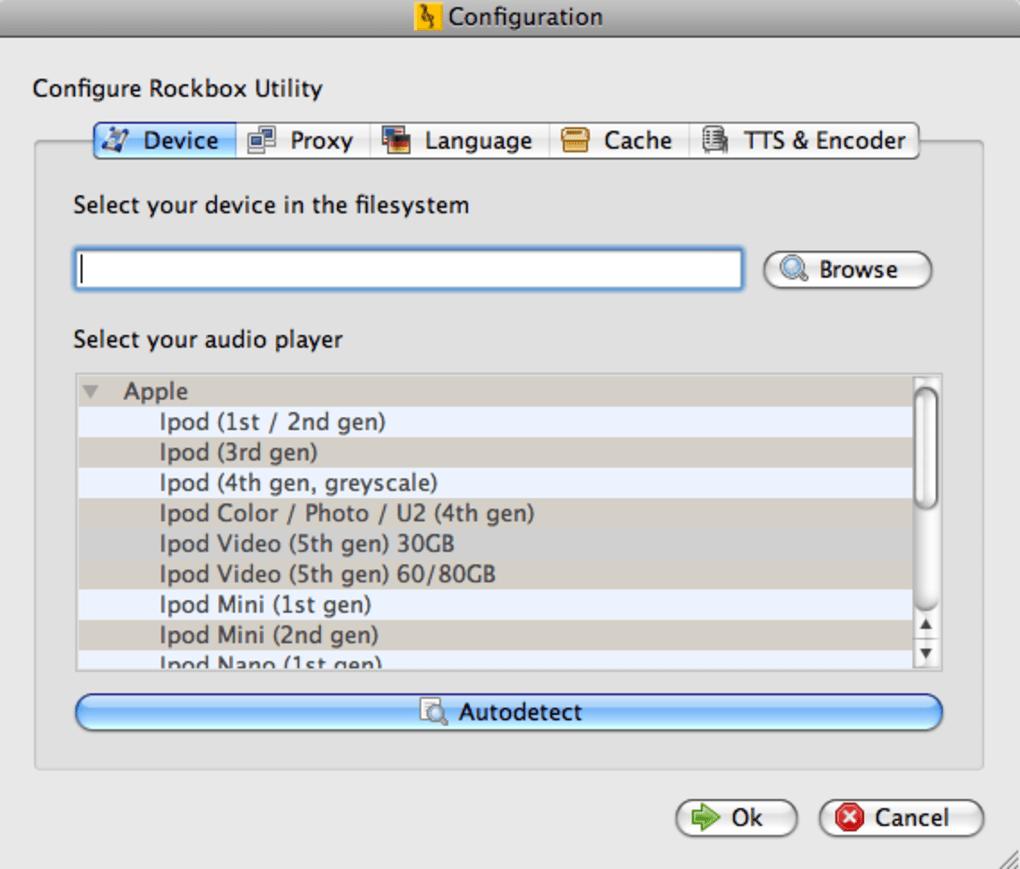 Rockbox for Mac - Download
