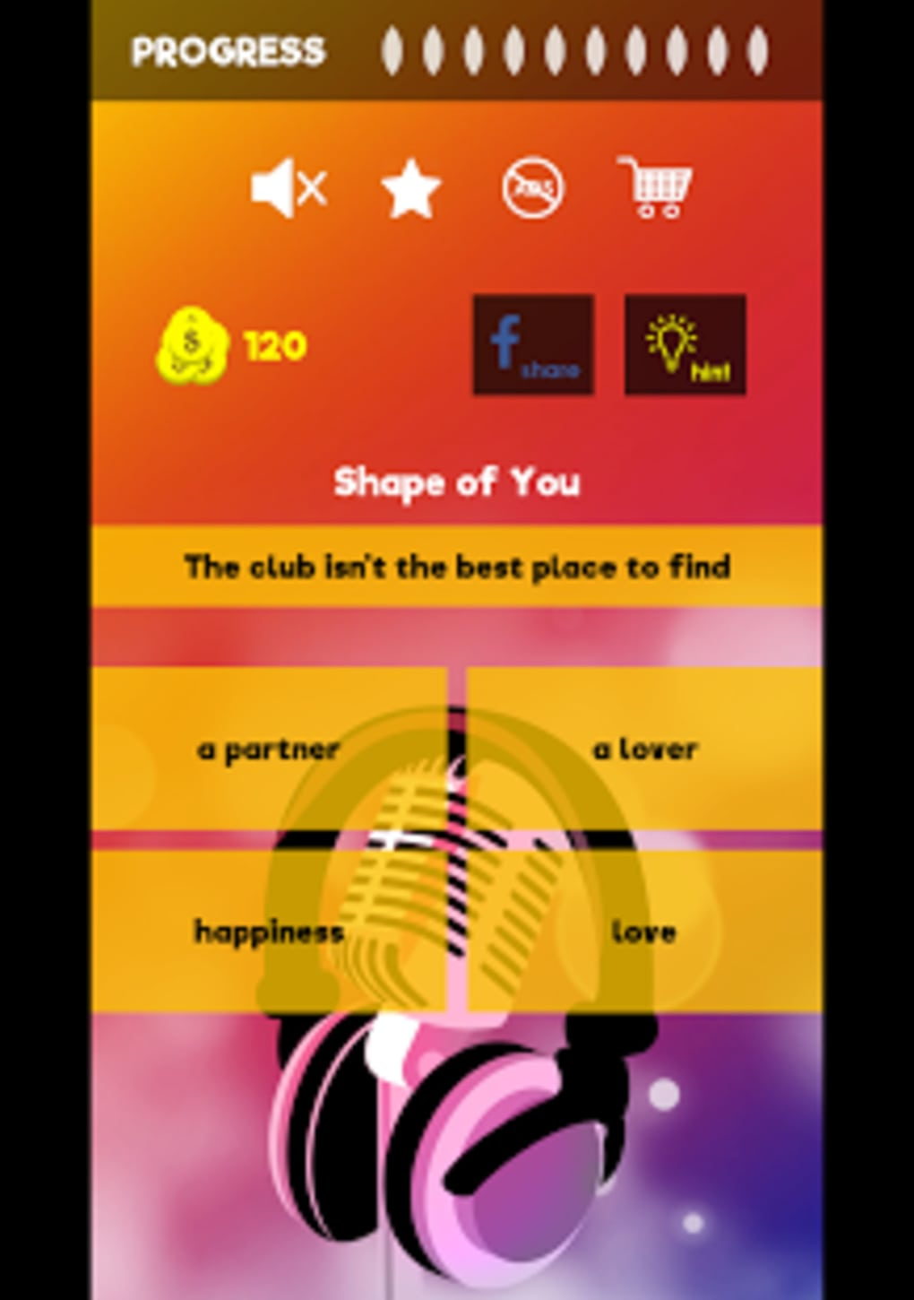 Finish The Lyrics Free Music Quiz App for Android - Download