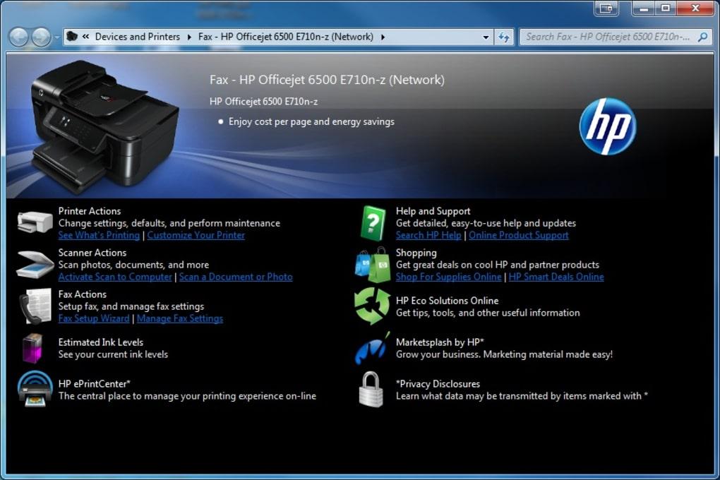 HP Officejet Pro 8500 Printer A909a Driver - Download