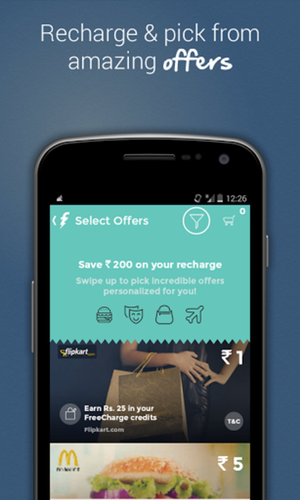 FreeCharge for Android - Download