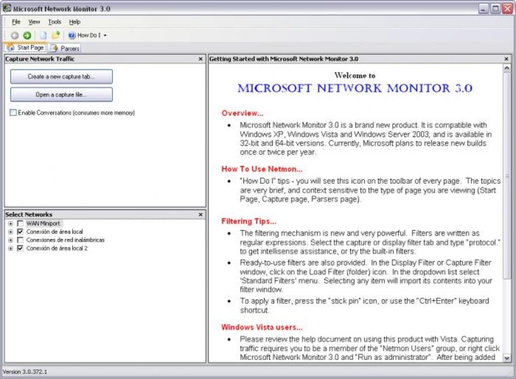 Microsoft Network Monitor - Download