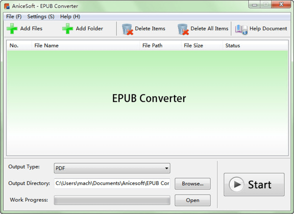 To epub converter download txt