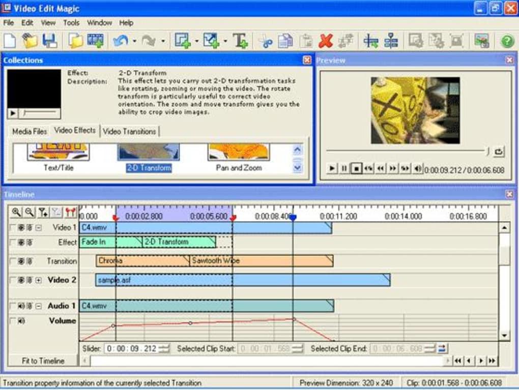 gratis video edit magic 4.47 editor de vdeo profissional