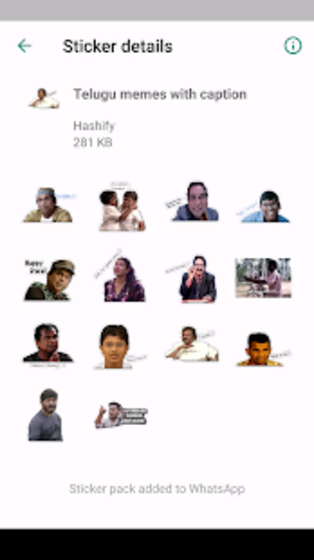 Telugu WhatsApp Stickers for Android - Download