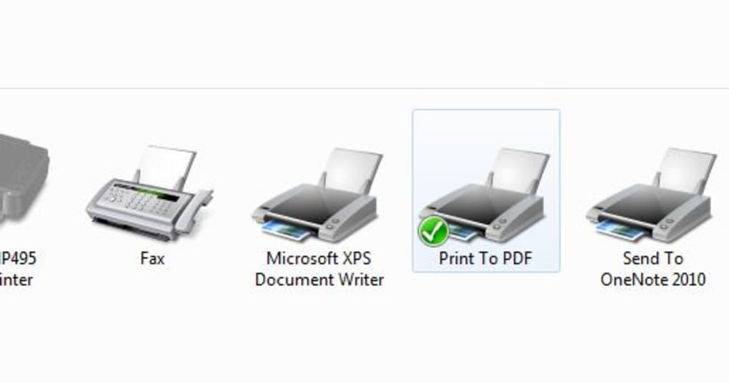 Pdf Printer Application