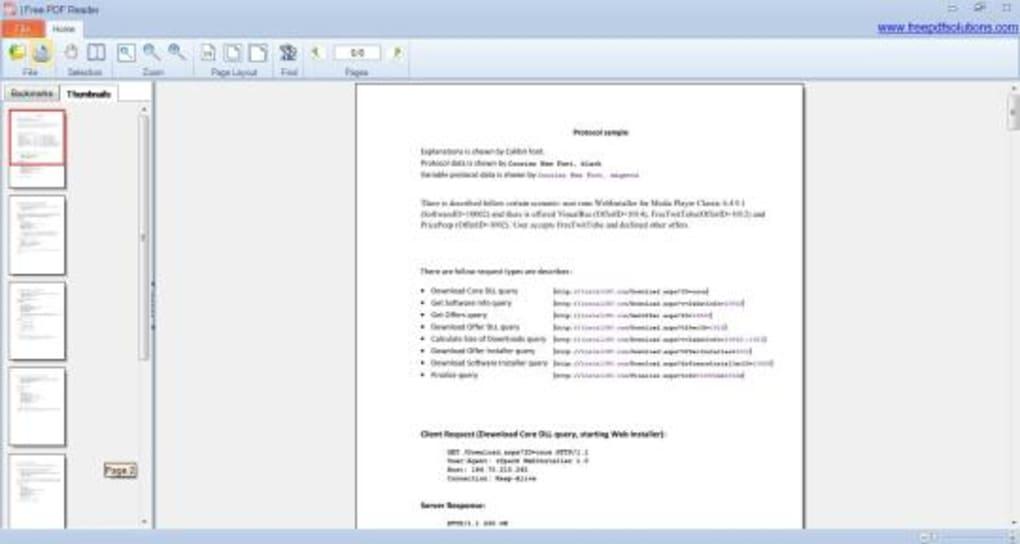 Free PDF reader - Download