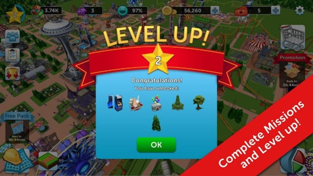 RollerCoaster Tycoon Touch for Android - Download