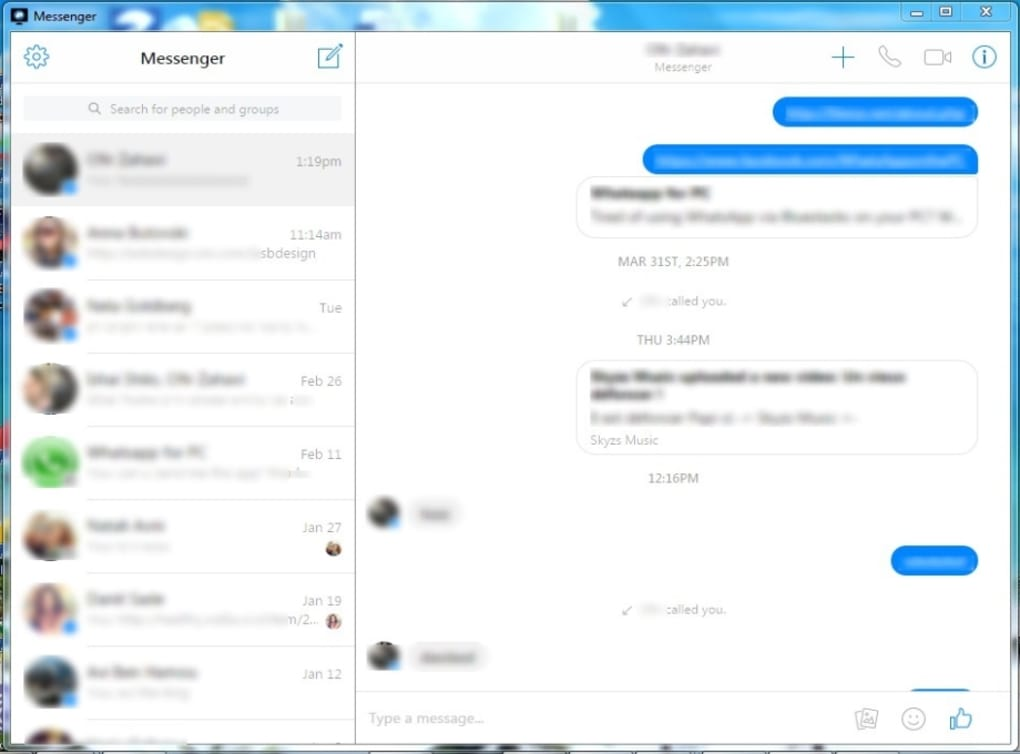 download fb messenger for pc