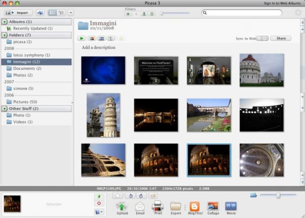 Fotoprogram gratis mac