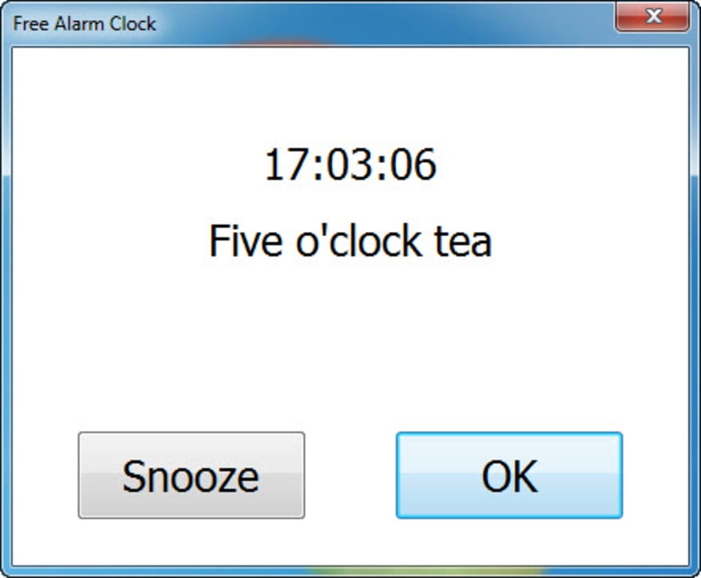 Free Alarm Clock - Download