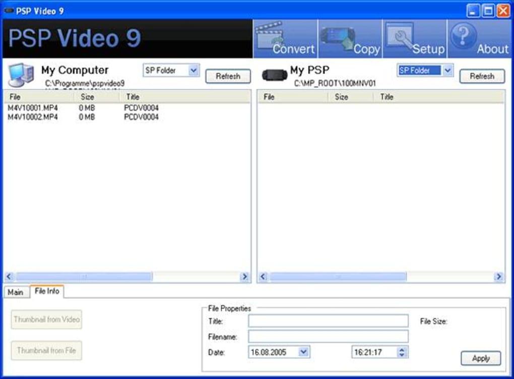 Psp video 9 download.
