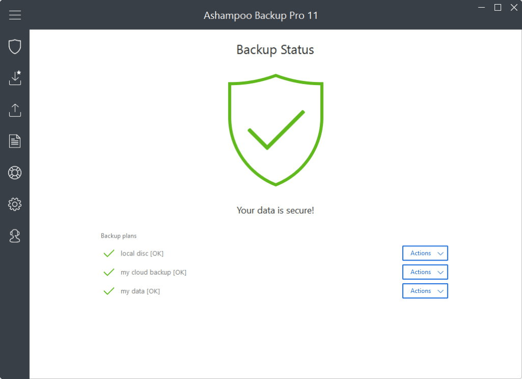 Ashampoo Backup Pro 11 - Download