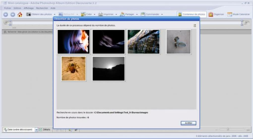 adobe photoshop album edition dcouverte 3.2