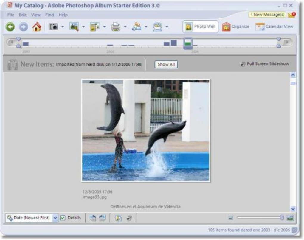 Adobe photo album starter 3.2