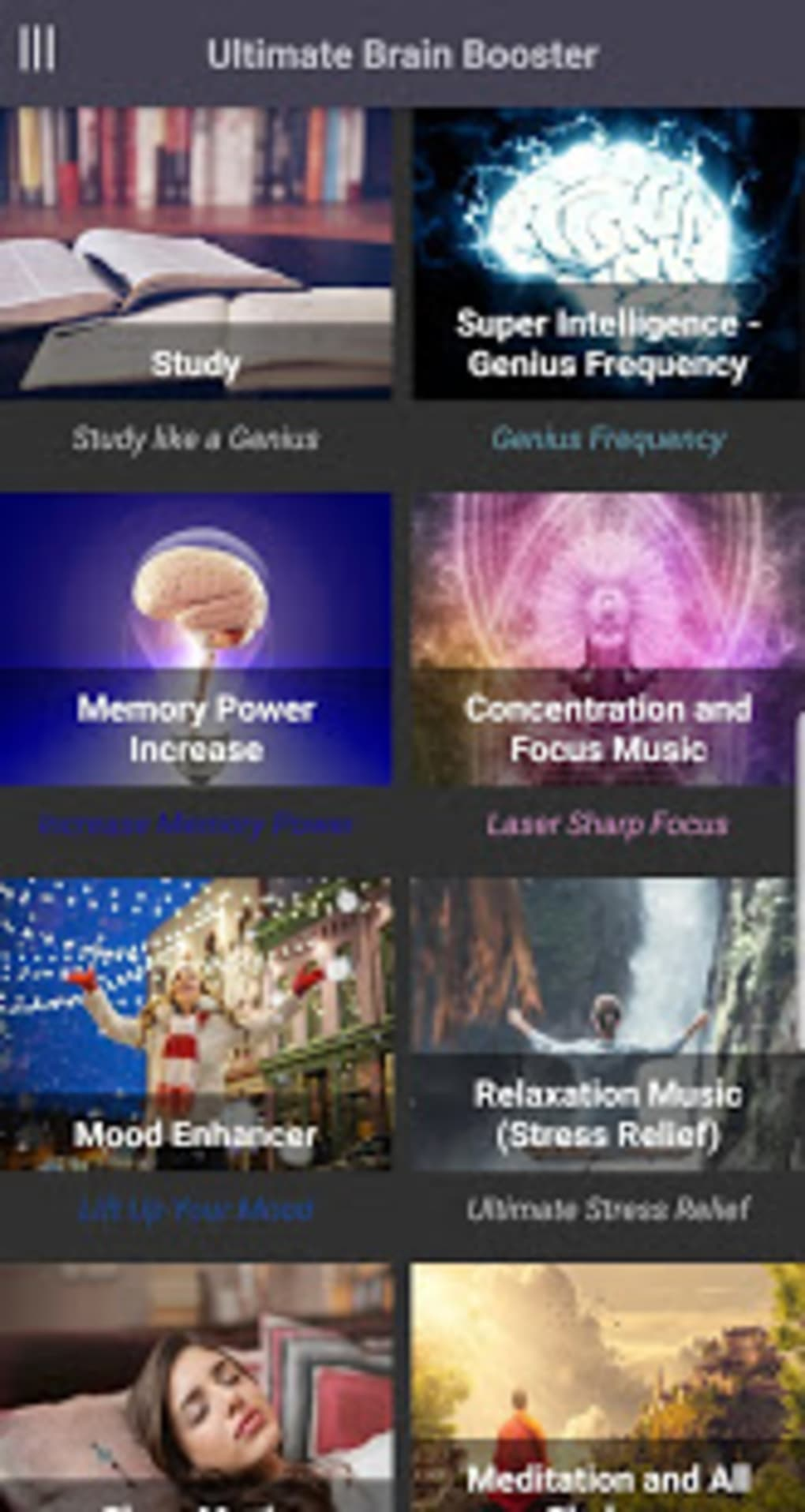 Ultimate Brain Booster - Binaural Beats for Android - Download