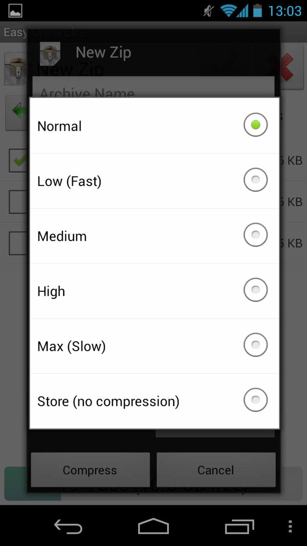 Easy Unrar, Unzip & Zip for Android - Download