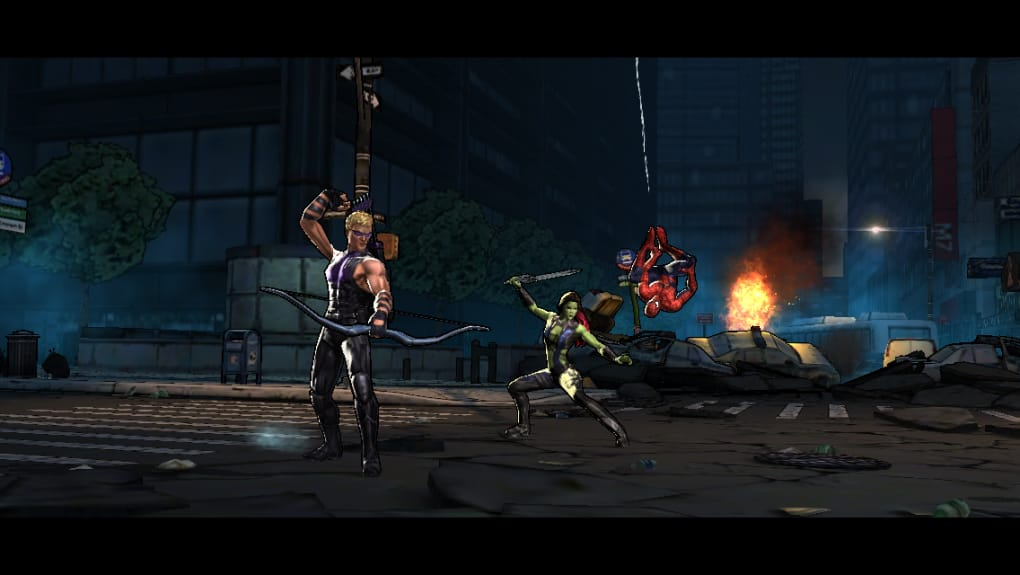 download game marvel ultimate alliance pc compressed