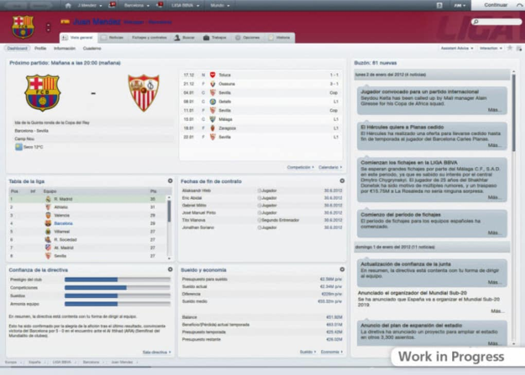 Football Manager Stories