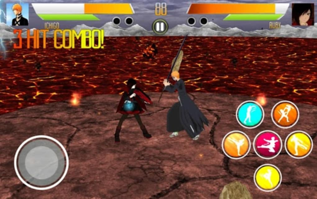 anime games for android free download