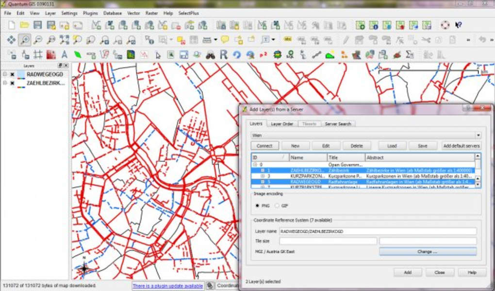 Quantum GIS - Download