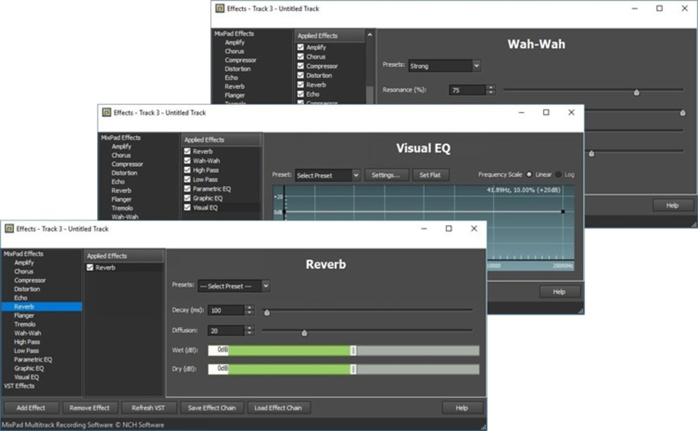 MixPad Multitrack Recording Software - Download