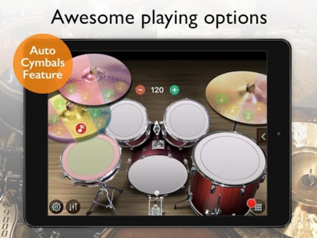 Real Drum Set - Drums Kit Free for Android - Download