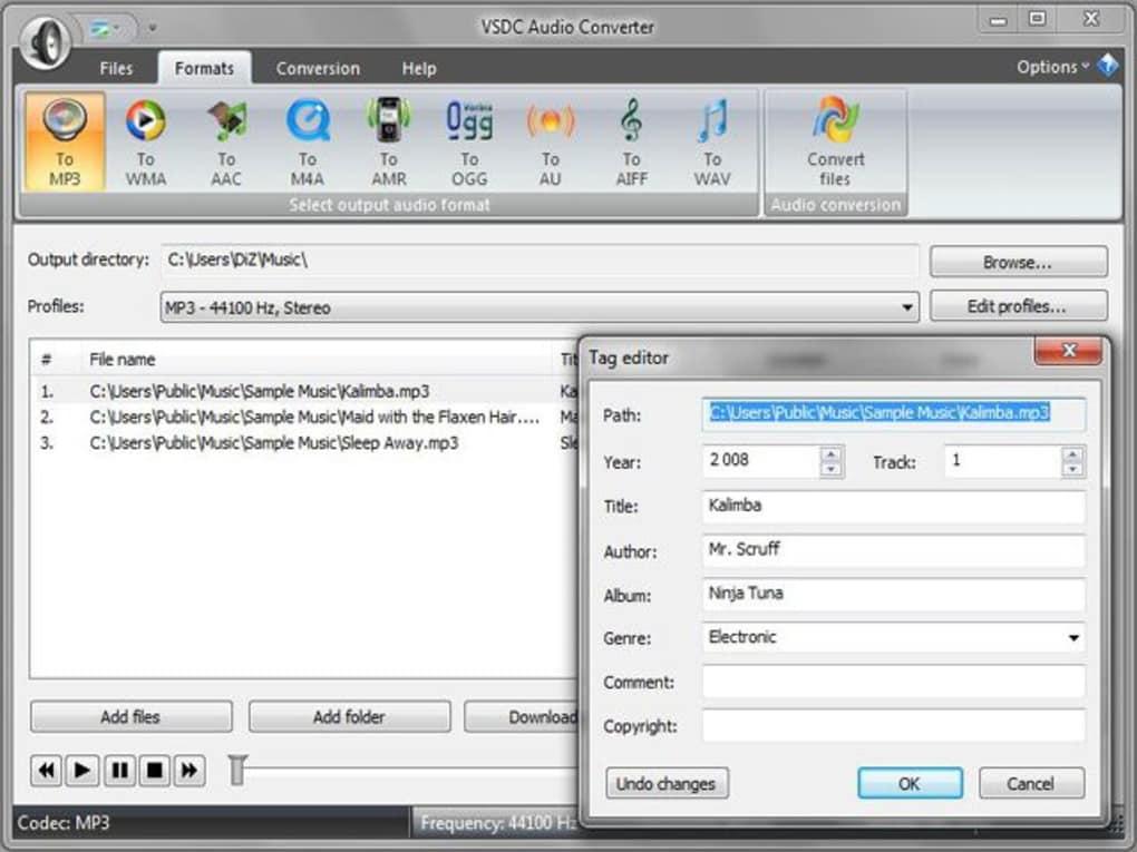 VSDC Free Audio Converter - Download
